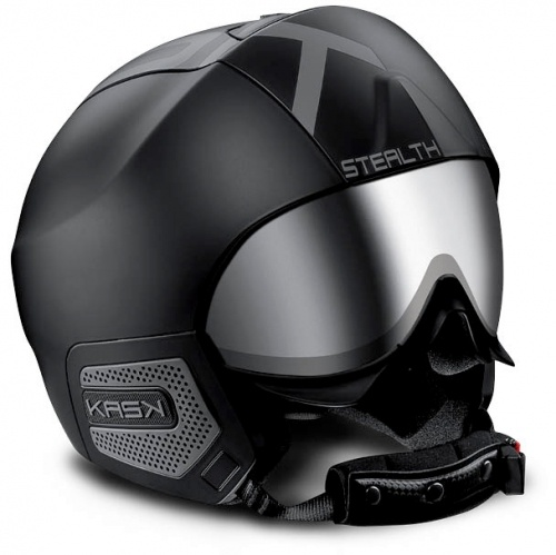 ski & snow helmet  kask - Stealth Shadow