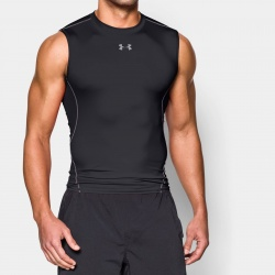 fitness under armour-Armour Sleeveless Compr. Shi