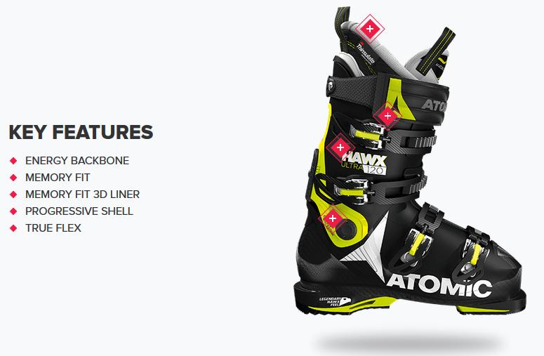 super popular e7569 b5807 Ski Boots | Atomic Hawx ULTRA 120 | Ski