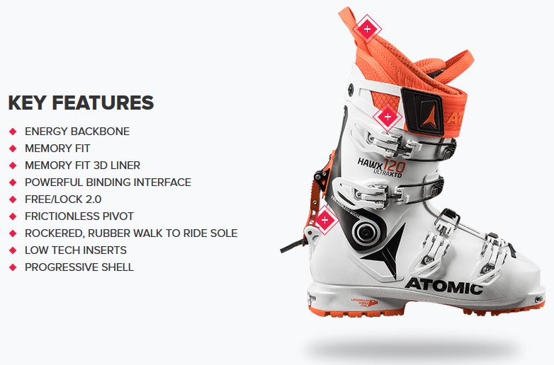 quality design 3d36c 90b76 Ski Boots | Atomic HAWX ULTRA XTD 120 | Ski