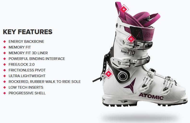 designer fashion 2e202 6b09f Ski Boots | Atomic HAWX ULTRA XTD 110 W | Ski