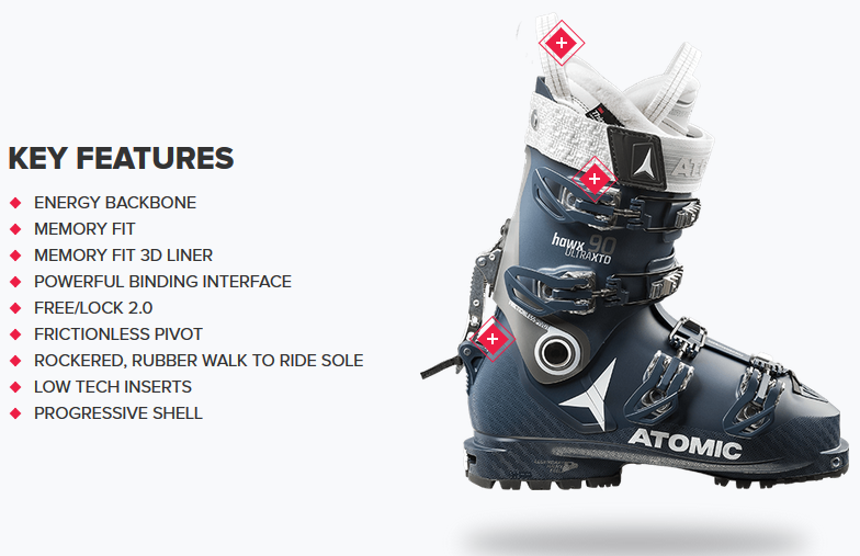 pretty nice 04f79 cfb84 Ski Boots | Atomic HAWX ULTRA XTD 90 W | Ski